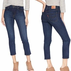 Levi's 724 High Rise Straight Crop